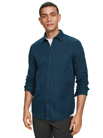 Structured Weave Shirt | Regular Fit - Combo C
