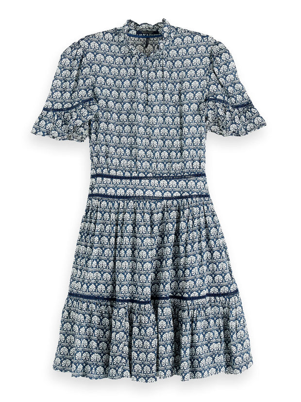 Printed Viscose Dress - Combo A