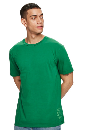 Jersey Crew Neck T-Shirt - Fern