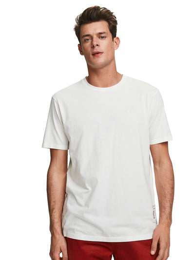 Jersey Crew Neck T-Shirt - Raw Cotton
