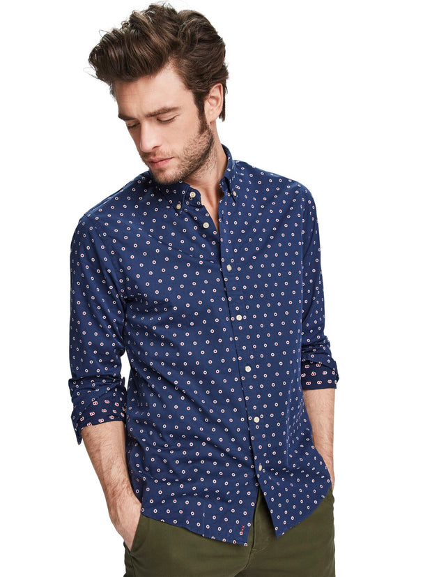 Mini Jacquard Shirt | Regular Fit - Combo B