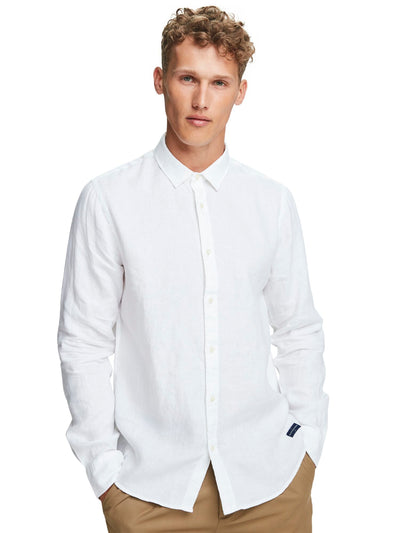 Linen Shirt | Regular Fit - White