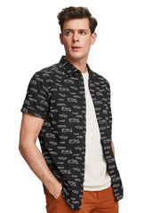 Short Sleeved Printed Shirt | Regular Fit - Combo F