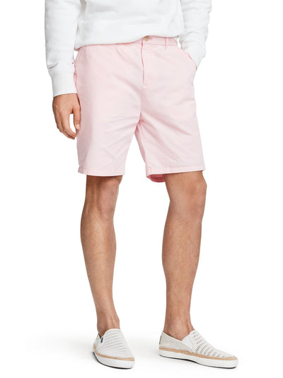 Pima Cotton Chino Shorts - Faded Pink