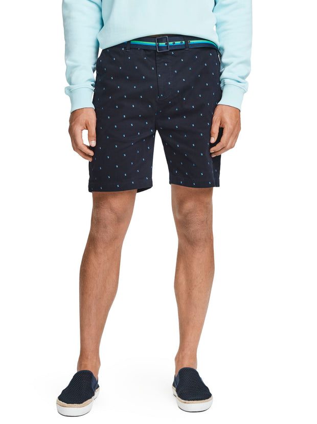 Mini Print Chino Shorts - Combo B