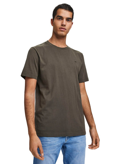 Cotton Jersey T-Shirt - Army