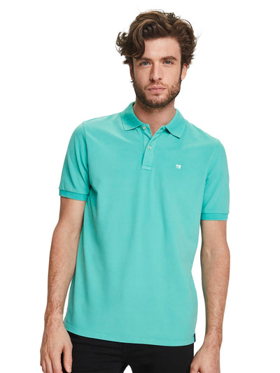 Garment Dyed Polo - Emerald