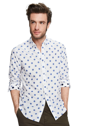 Mini Jacquard Shirt | Regular fit - Combo D