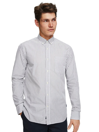 Yarn Dyed Striped Shirt | Regular Fit - Combo B