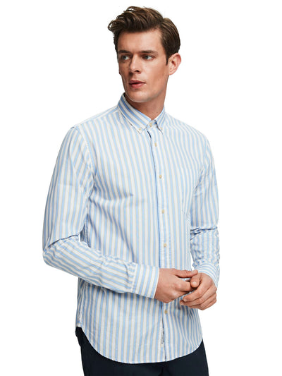 Yarn Dyed Striped Shirt | Regular fit - Combo C