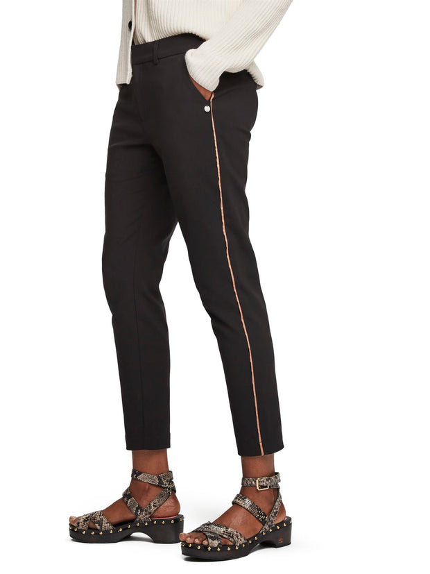 Tailored Stretch Trousers - Black