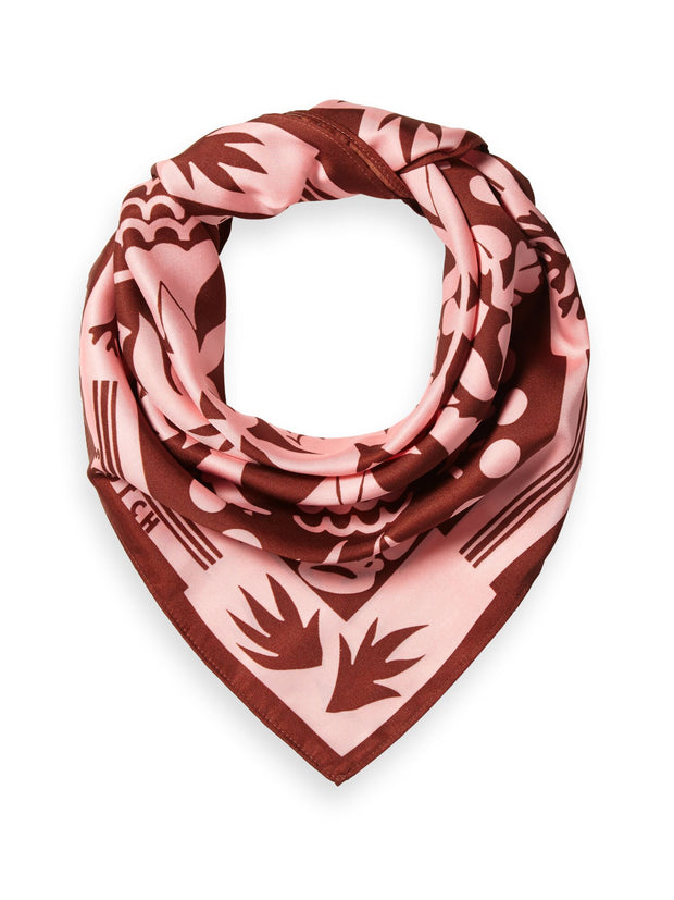 Silky Printed Scarf - Combo B