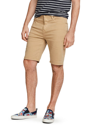 5-Pocket Denim Shorts - Sandstone