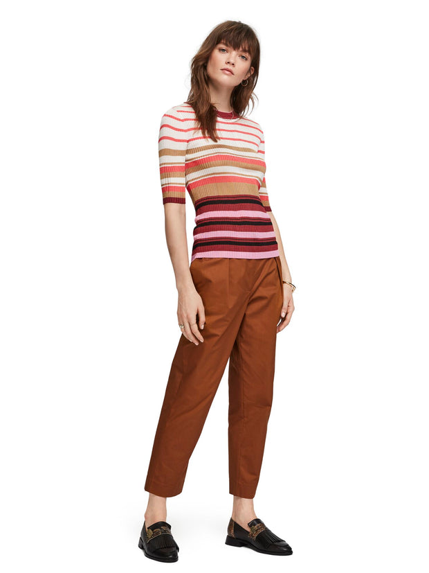 Multi-Coloured Striped Pullover - Combo R