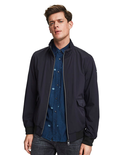 Nylon Harrington Jacket - Night
