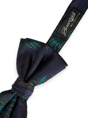 Palm Tree Jacquard Bow Tie - Combo A