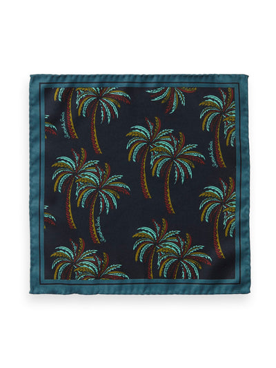 Palm Print Pocket Square - Combo A