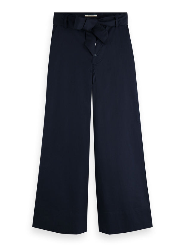 Wide Leg Chinos - Night