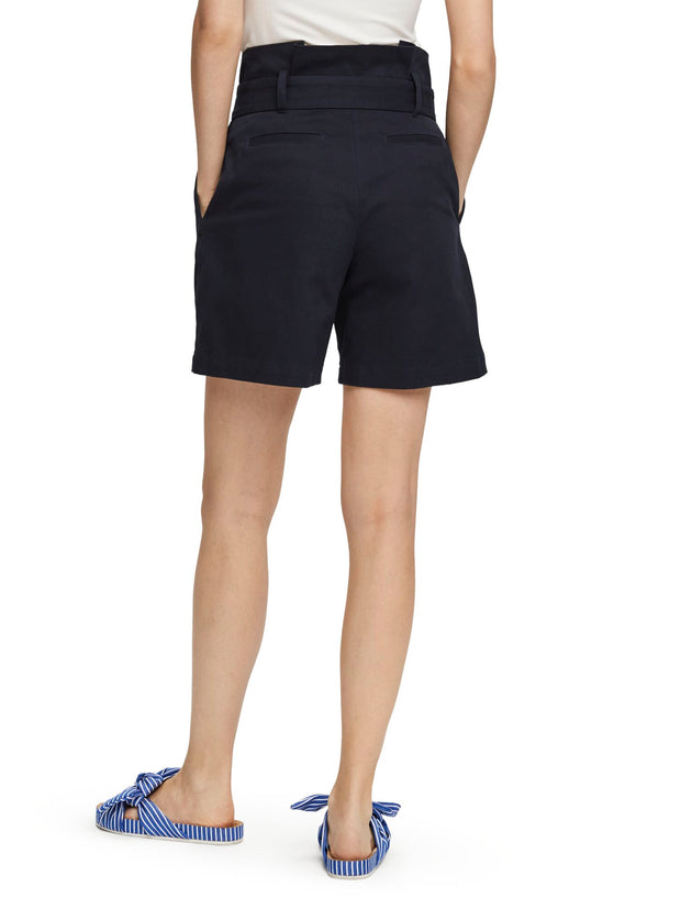 Paperbag Waist Shorts - Night