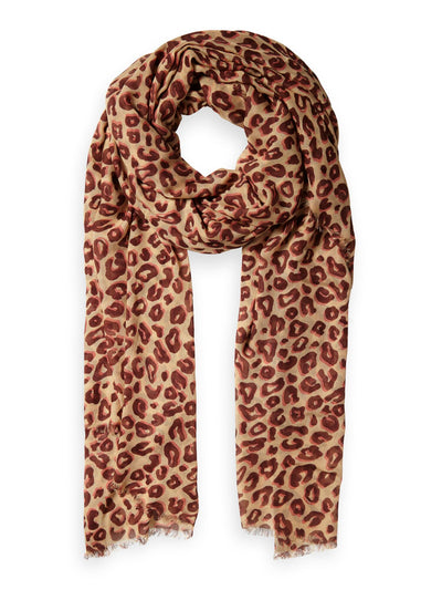 Printed Modal Scarf - Combo K