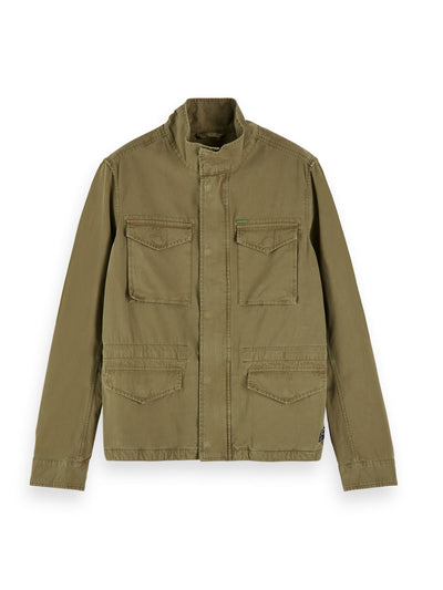 Cotton Field Jacket - Military