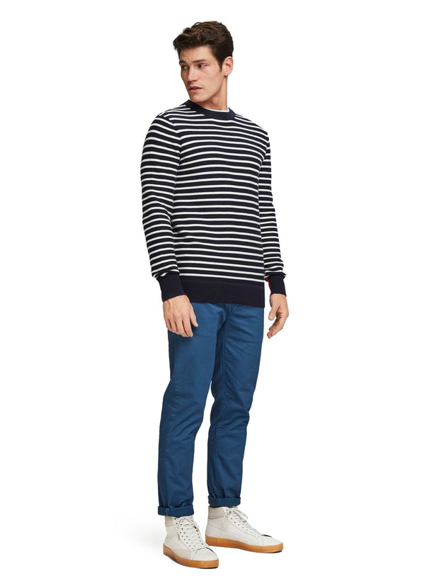 Structured Stripe Pullover - Combo A