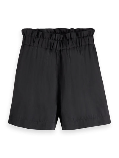 High Waisted Shorts - Black