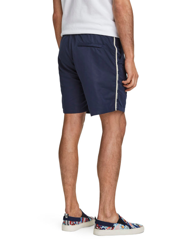 Logo Tape Swim Shorts - Night