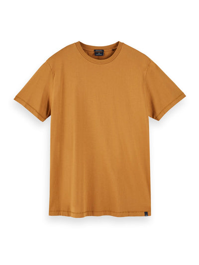 Cotton Short Sleeve T-Shirt - Tobacco