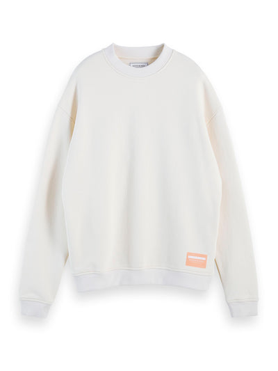 Boxy Fit Sweatshirt - Ecru