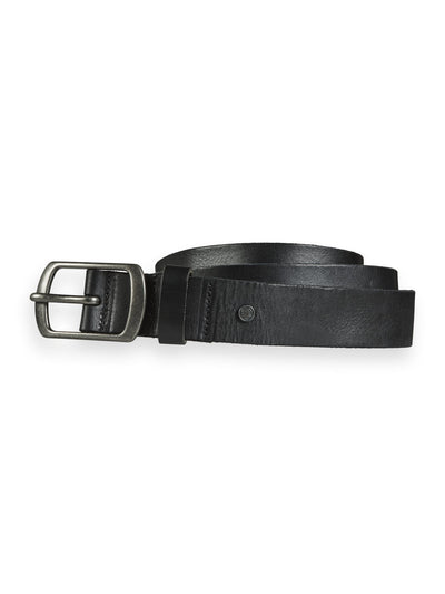 Scotch & Soda Classic Leather Belt - Black