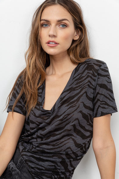 Rails Cara - Charcoal Tiger