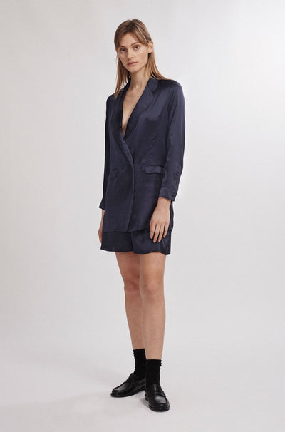 Relaxed Blazer - Navy