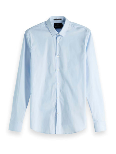 Classic Long Sleeve Shirt - Blue