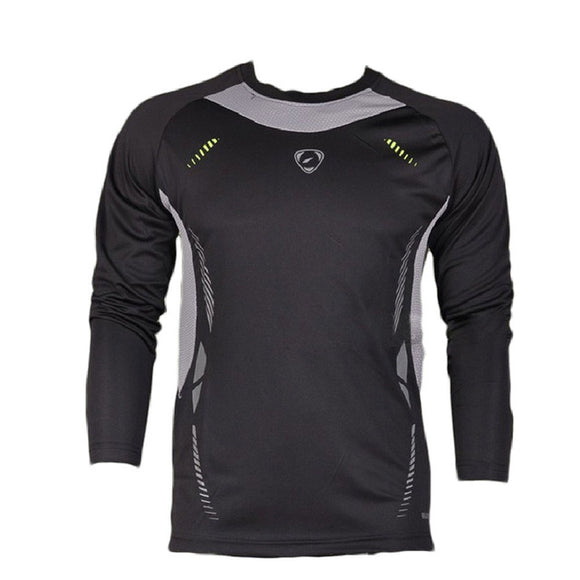 Cycling Long Sleeve Men O-neck T-shirts