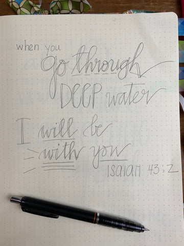 5 Steps to Bible Journaling for Beginners (Step by Step Hand Lettering)   Pam Coxwell From the Heart Art
