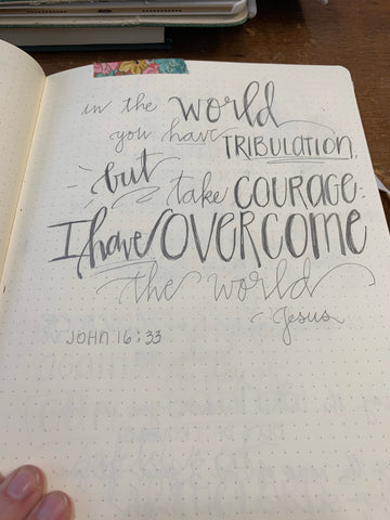 DIY: 3 Reasons to Start Hand Lettering Bible Verse Scriptures | Pam Coxwell From the Heart Art