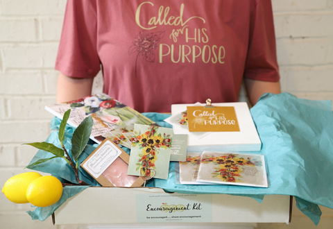 """What's Inside August's """"Lemonade Reminders"""" Christian Subscription box for Women 