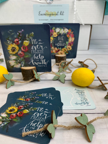 Story Behind the Art: What's Inside July's Christian Subscription Box for Women   Pam Coxwell From the Heart Art