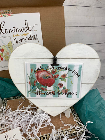Pam Coxwell | From the Heart Art May Lemonade Reminders Christian Subscription Box for Women