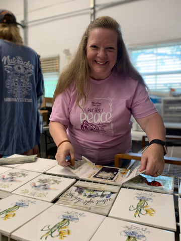 Behind-the-Scenes: Meet Our 3 Newest Team Members & Makers at From the Heart Art | Pam Coxwell