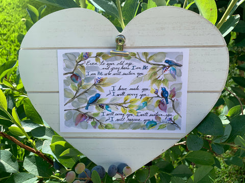 Artwork & Bible Verses for Summer to Remind You of God's Presence | Pam Coxwell From the Heart Art