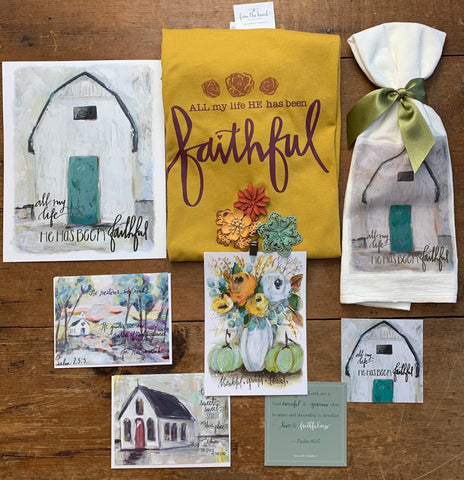 """Story Behind the Art: What's Inside September's """"Lemonade Reminders"""" Christian Subscription Box for Women (+ Why I Chose It) 