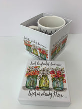 3 Jars - 13oz. Ceramic Gift Box Mug