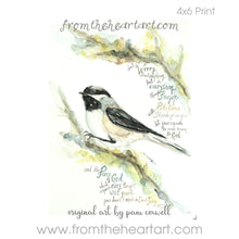 Chickadee {Phil 4:6-7}