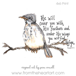 Mockingbird {Psalm 91:4}