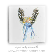 Feather Angel - Brown Wings