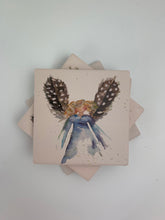 Angel Brown Wings - Ceramic Coasters - Set of 4