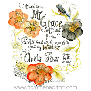 Grace is Sufficient (Farewell)