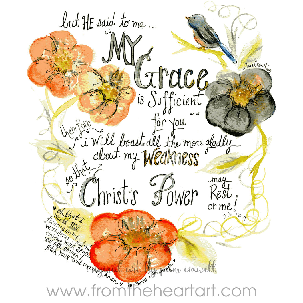 Grace is Sufficient 1